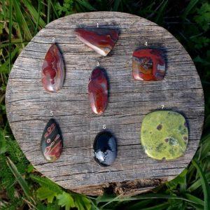 Pierres Fines –  Agate – Obsidienne – Atlantisite