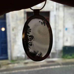 Pendentif – Agate dendritique