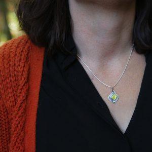 Pendentif – Opale Verte