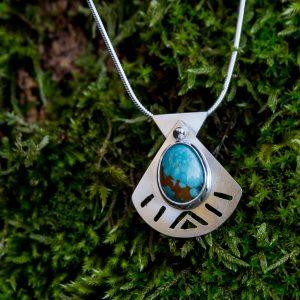Pendentif – Turquoise Cumpas