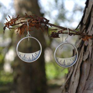 Boucles d'oreilles – Forêt